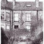 Grove Lane Leeds, drawing by Simon Lewis