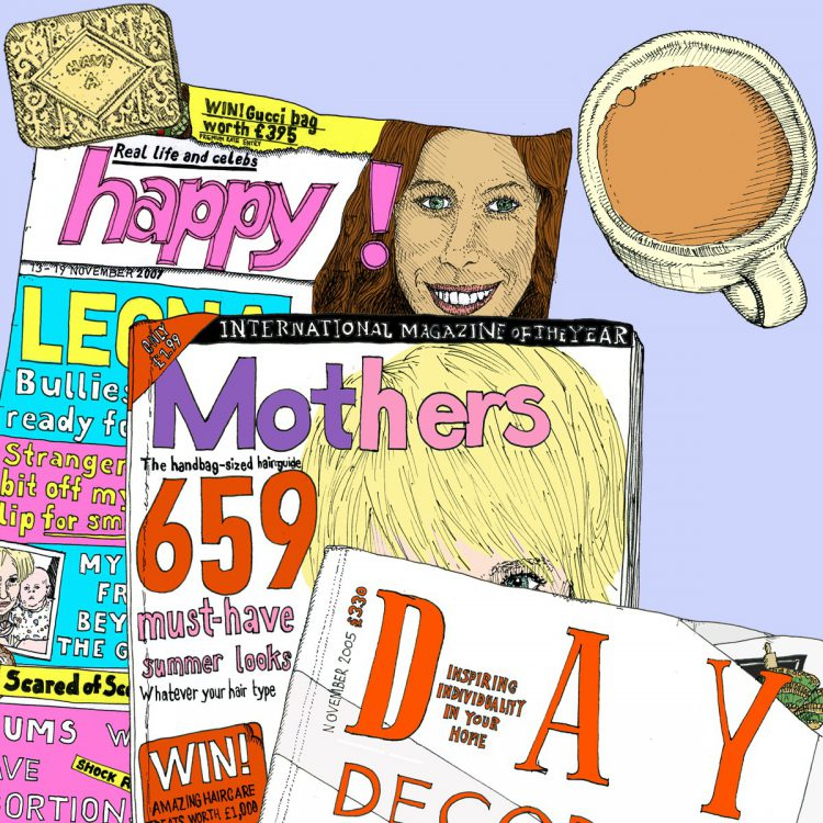 Mothers Day card by Simon Lewis